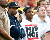 Celebrities attend the Ohio State at USC game at the Los Angeles Memorial Coliseum