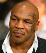 Boxing champion ... Mike Tyson in New York, 2004.