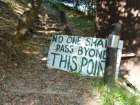 stay-out-sign