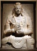 Seated Bodhisattva Maitrya. 4th c. Gand.met