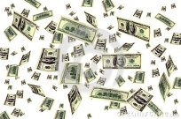 money-flying-background-24856509