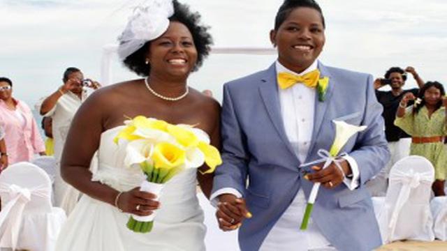 Black gay marriage