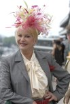 Ivana-Trump-visited-Churchill-Downs-her-eccentric-fascinator